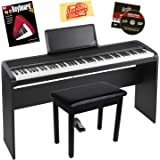 korg b1sp 88 weighted key digital piano with stand three pedal board and knox bench. Black Bedroom Furniture Sets. Home Design Ideas