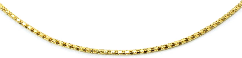 14k Yellow Gold Popcorn Chain 1.44mm