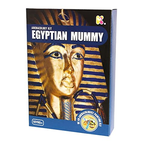 Blue Frog Toys Egyptian Mummy Excavation Kit