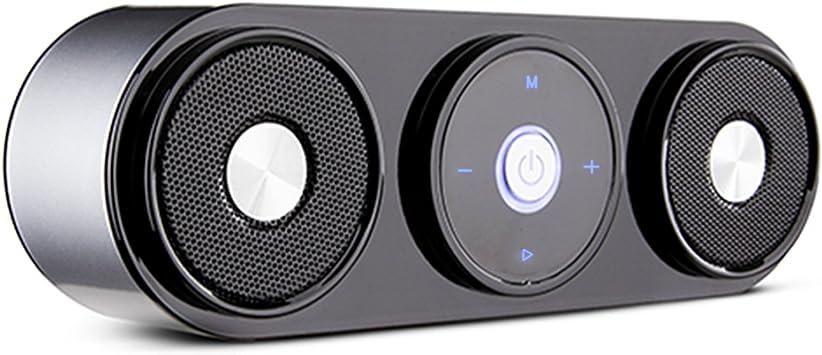 ZENBRE Altavoz Bluetooth, Z3 10W Altavoz Inalámbrico Portátil hasta 20 Horas de Reproducción, Parlante para Computadora Dual-Driver con Potentes Graves Incluidos (Plateado): Amazon.es: Electrónica