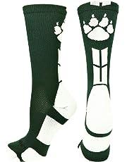 MadSportsStuff Wild Paws Athletic Crew Socks (Multiple Colors)