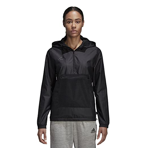 Amazon.com: adidas Womens Tango Windbreaker Black: Sports ...