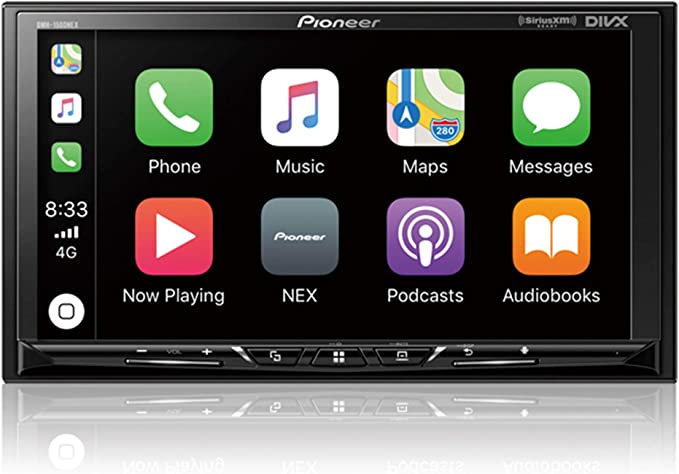 "Amazon.com: Pioneer DMH-1500NEX Digital Media Receiver with 7"" WVGA Display, Apple CarPlay, Android Auto, Built in Bluetooth: Electronics"