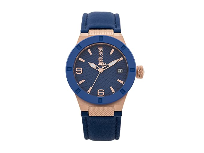 Just Cavalli Womens Analogue Classic Quartz Watch with Leather Strap  JC1L017L0035  Amazon.co.uk  Watches 7673a4641