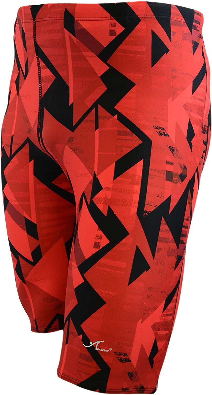 Ultrastar Boy's/Men's Printed Pro Athletic Swim Jammers Swimsuit