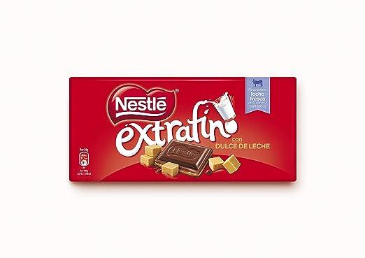 Nestlé - Extrafino Tableta De Chocolate Con Leche Relleno De Dulce De Leche 120 g