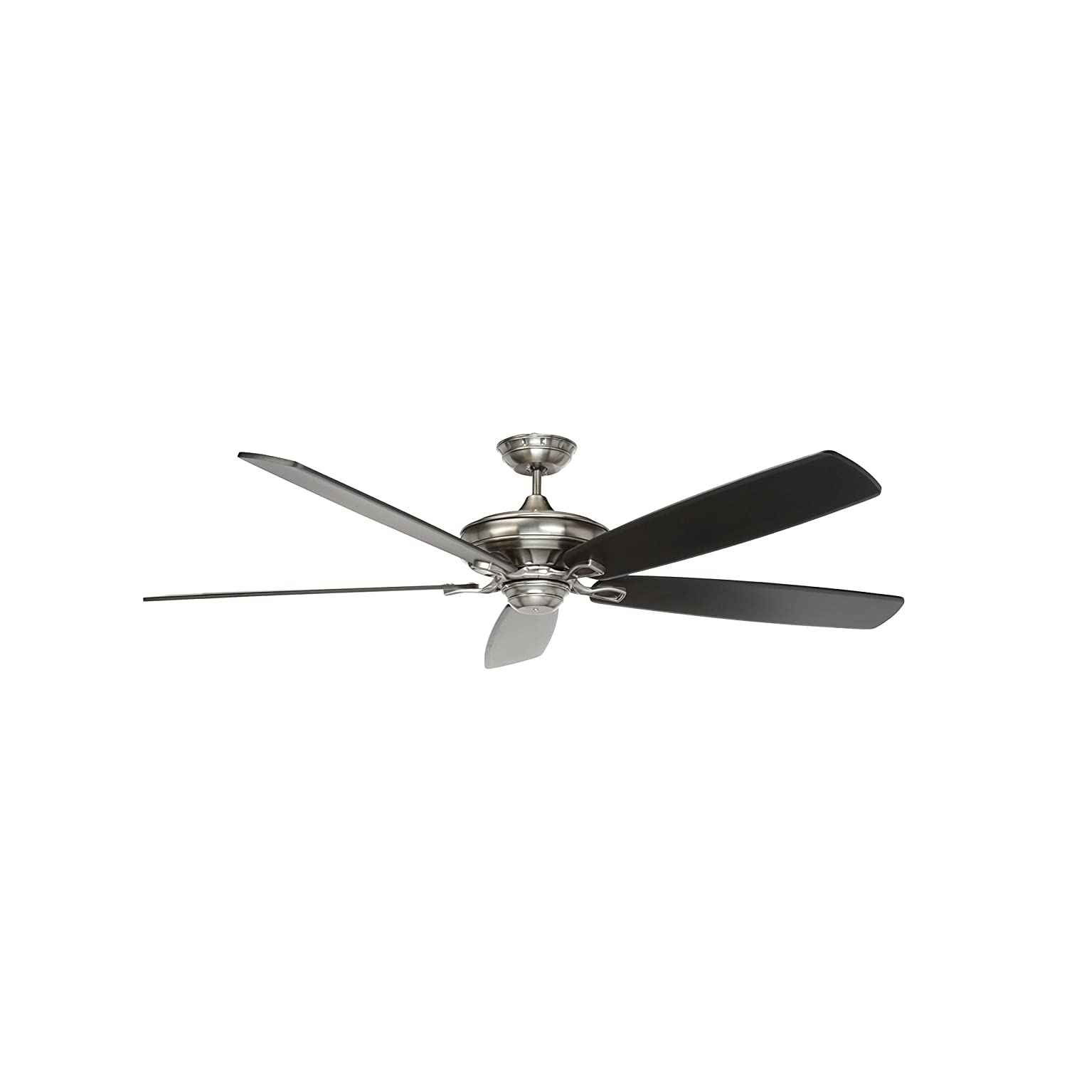 Emerson Ceiling Fans CF788AP Carrera Grande Eco Indoor Ceiling Fan With 6-Speed Wall Control, Energy Star Rated, Blades Sold Separately, Light Kit Adaptable, Antique Pewter Finish