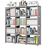 Rerii Cube Storage, Organizer Shelves 12 Cubes, Bedroom Storage, Closet Organizer, Standing Shelving Units for Living Room, S