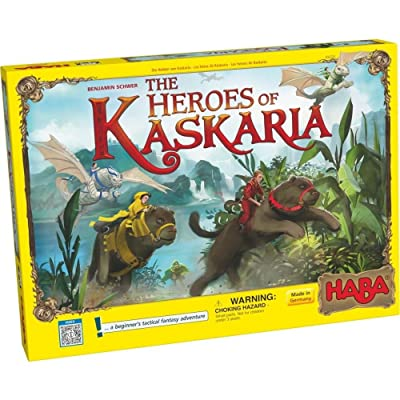 HABA The Heroes of Kaskaria - A Beginner's Tactical Fantasy Adventure for Ages 6 and Up (Made in Germany): Toys & Games