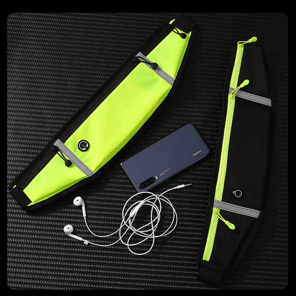 Sweatproof waistpacks with Large Capacity Running Belt with Waterproof Adjustable Elastic Strap Perfect for Running and Outdoor Activities