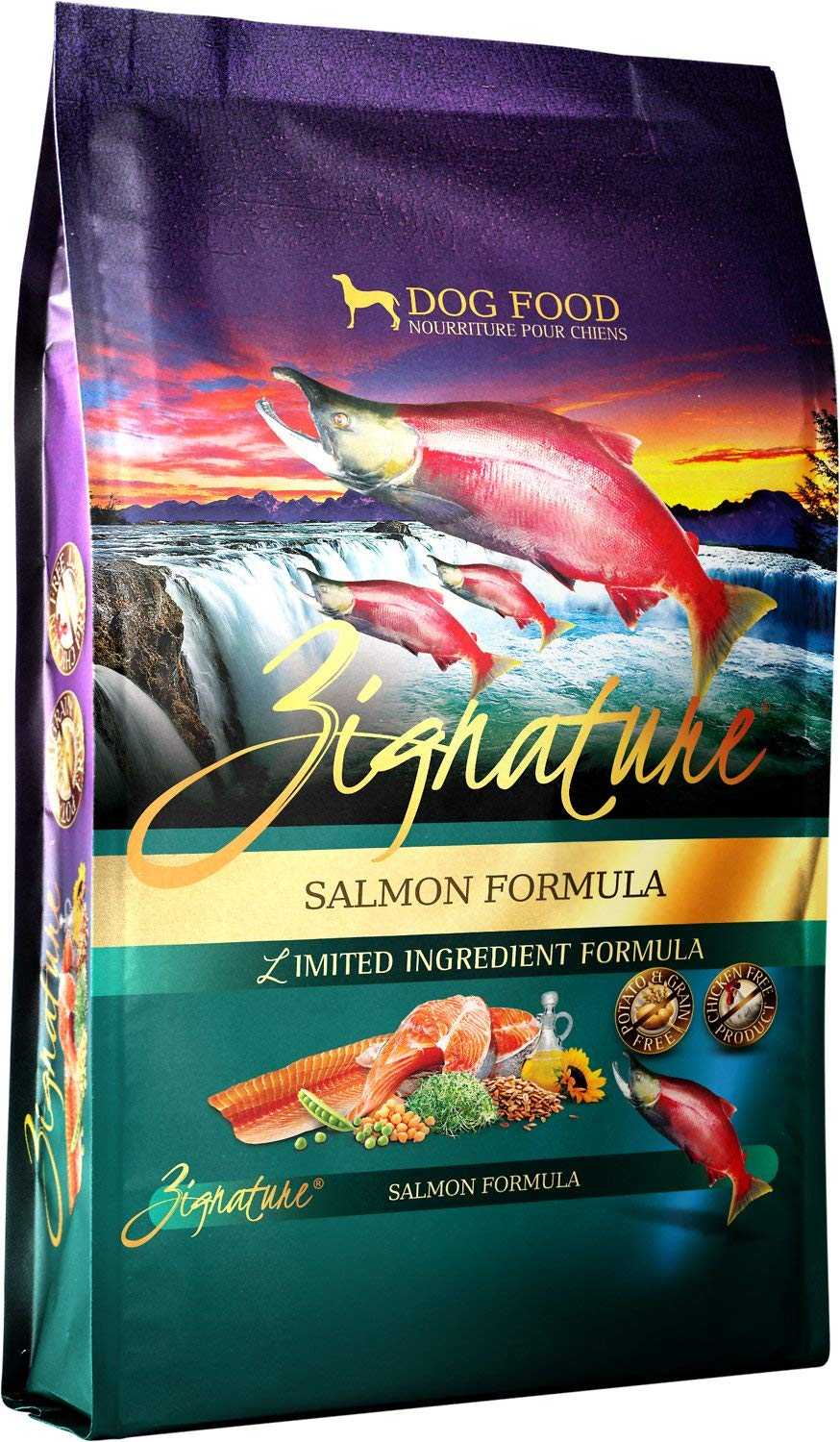 Zignature Salmon Formula Dog Food