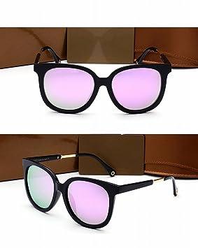 Grandes Gafas de Sol Polarizadas Mujer Marco Mujer Marco Gafas de Sol de Conducción Marco Negro: Amazon.es: Deportes y aire libre