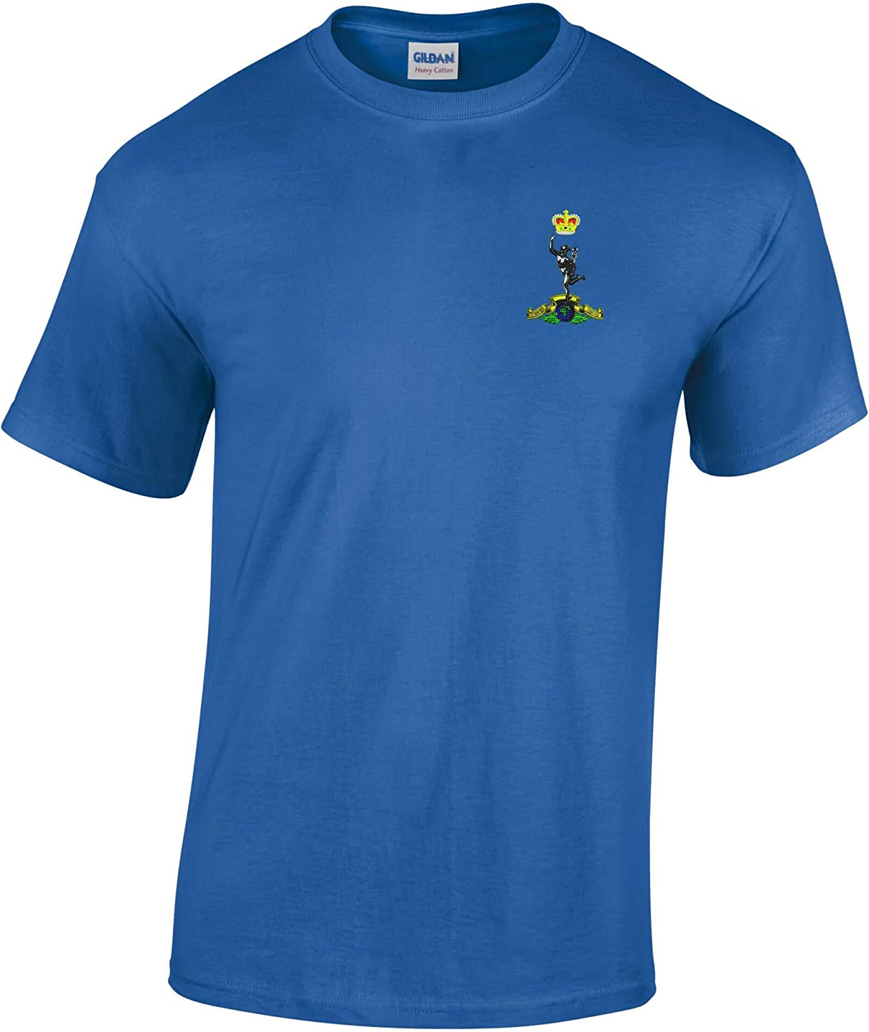 Embroidered Tee Shirts Various Colours Royal Signals