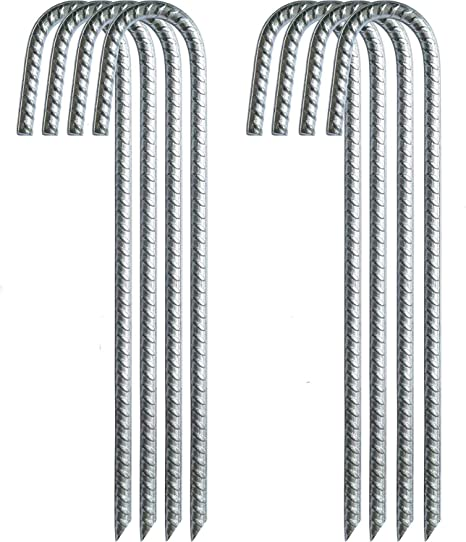 For Use With Parking Stop pack of 5 Rebar Spikes