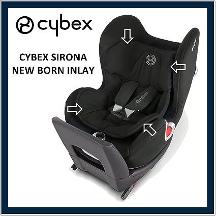Cybex – Reductor para recién nacido Sirona Classic Negro: Amazon.es ...