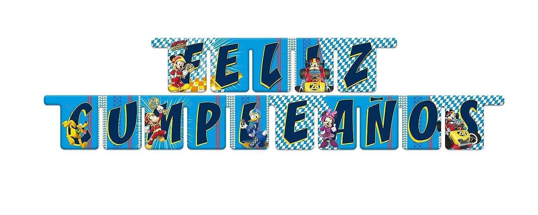 ALMACENESADAN 014001347, Guirnalda Feliz cumpleaños Disney ...