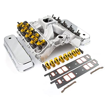 Procomp Electronics PCE435 1017 Chevy BBC 454 Solid FT Cylinder Head Top  End Engine Combo Kit