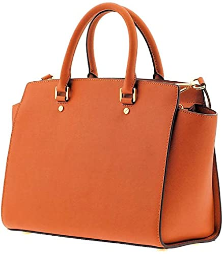 e28f8c47ca Amazon.com  MICHAEL Michael Kors Selma Large Satchel Saffiano Leather Tote