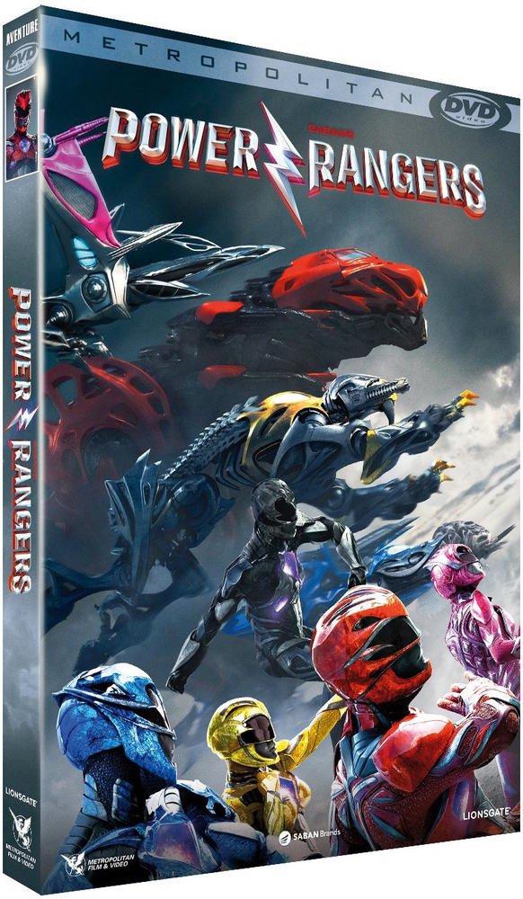 Power Rangers [Francia] [DVD]: Amazon.es: Dacre Montgomery, RJ Cyler, Naomi Scott, Becky G., Ludi Lin, Elizabeth Banks, Bryan Cranston, Dean Israelite: Cine ...