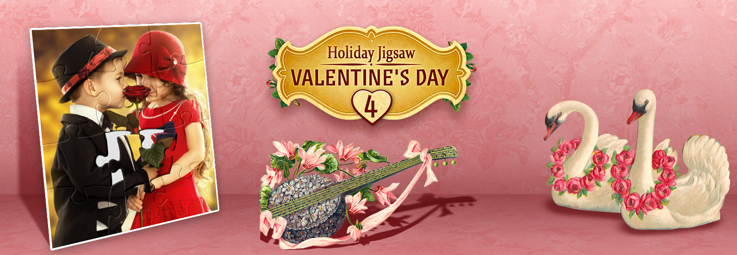 Holiday Jigsaw: Valentine's Day 4 [Download]