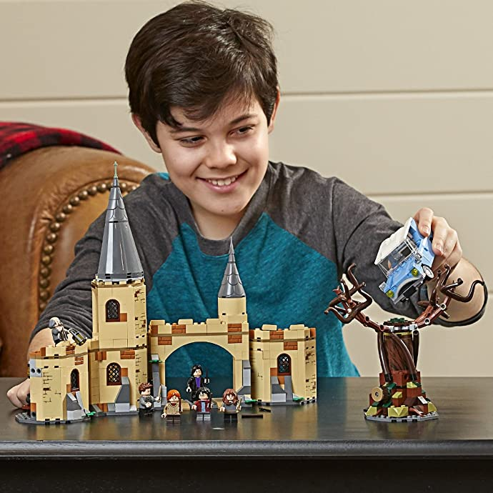 LEGO 乐高 哈利波特系列 75953 霍格沃茨城门与打人柳 积木玩具 8折$55.99 海淘转运到手约¥455