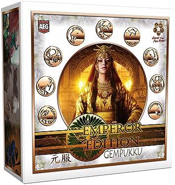 La Leyenda de los 5 anillos – Caja de 9 emperador Edition gempukku mazos de iniciación: Amazon.es: Juguetes y juegos