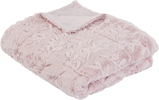 Amazon.com: Thro by Marlo Lorenz Pillows and Throw Blanket, Pink