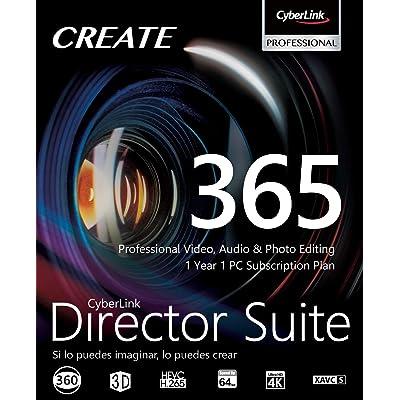 CyberLink Director Suite 365   12 Months   PC   Código de activación PC enviado por email