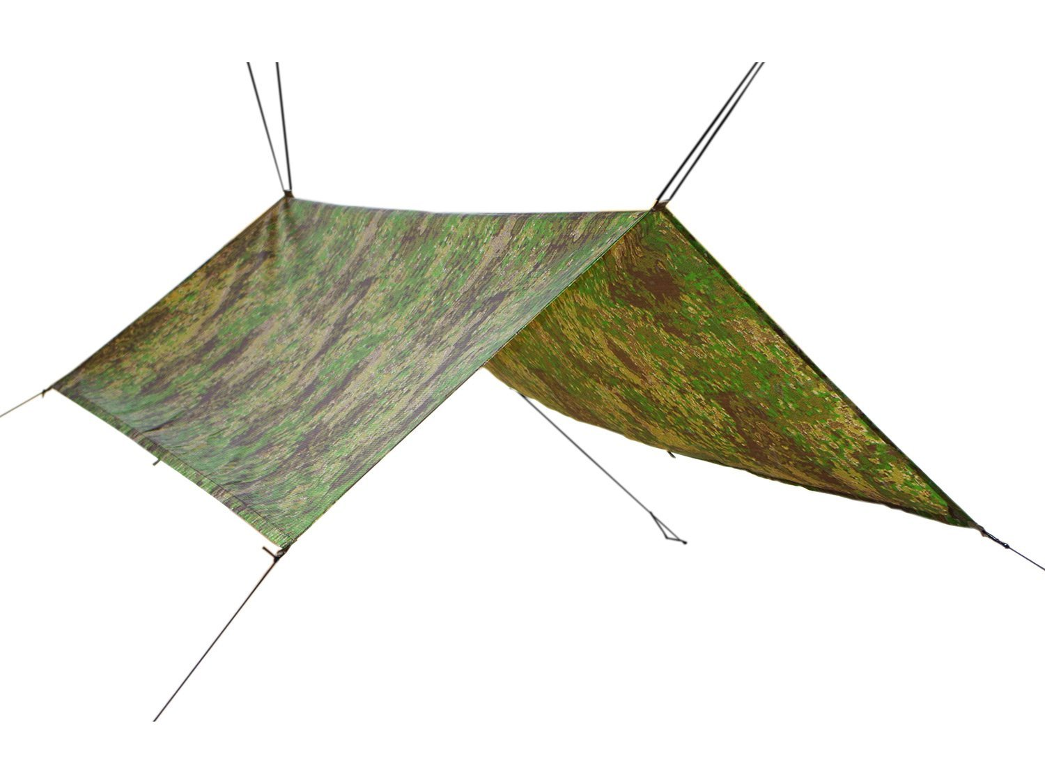 BE-X FronTier One LRRP Tarp 150 x 250 cm, PenCott Grünzone (made in Germany)