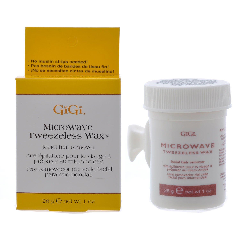 Gigi Microwave Tweezeless Wax Facial Hair Remover