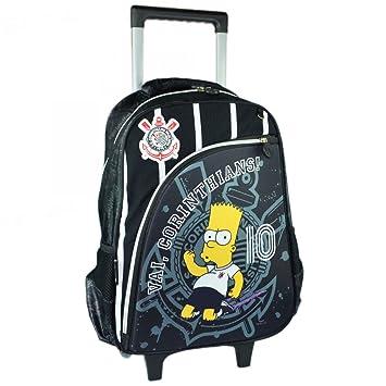 d34684e86 Mochila de Rodinhas Bart Simpsons Corinthians   Ref: 940D01: Amazon ...