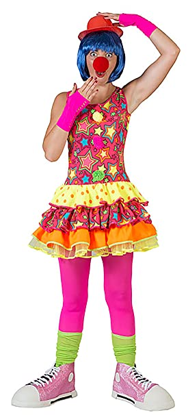 Zauberclown mágica payaso Disfraz de payaso con diseño de ...