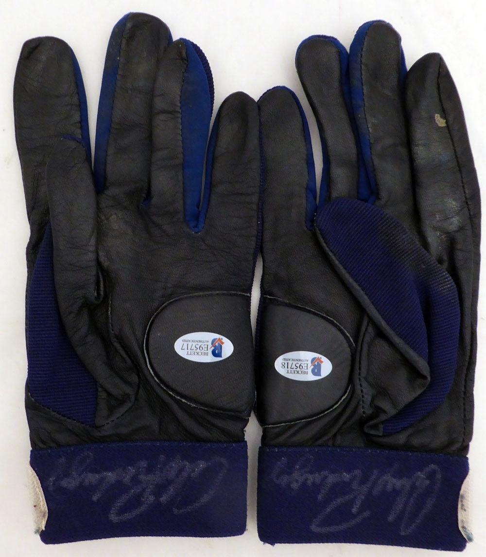 Alex Rodriguez Autographed 1995 Game Used Batting Gloves Signed Cert E95717 MLB Game Used Gloves