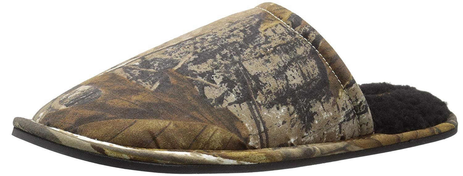 Wembley Men's Realtree Scuff Slipper Mule, Camouflage, Medium/8-9 M US by Wembley (Image #1)