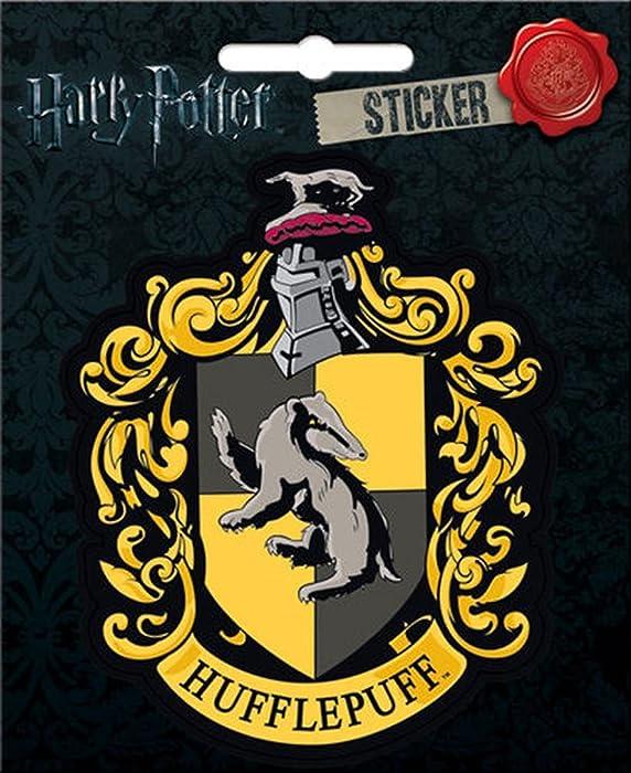 Top 8 Hufflepuff Laptop Sticker