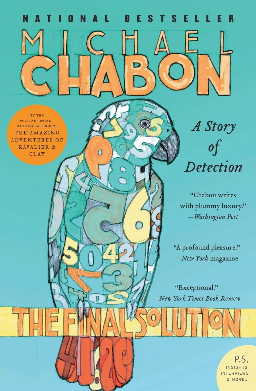 Image result for The Final Solution: A Story of Detection – Michael Chabon