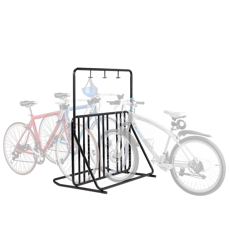 RAD Cycle Products Instant Park Pro-Quality Six Bike Floor Stand 2022 RAD Six Bike Rack