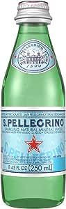 San Pellegrino Agua Mineral Natural, 250 mililitros, Paquete de 24