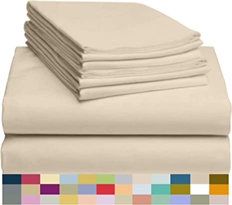 Luxor Style Bamboo Sheet 300 TC ~ FLAT ONLY King//Cal King ~ Green **NEW**