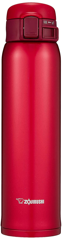 Zojirushi SM-SE60RZ Stainless Steel Vacuum Insulated Mug, 20-Ounce, Garnet Red