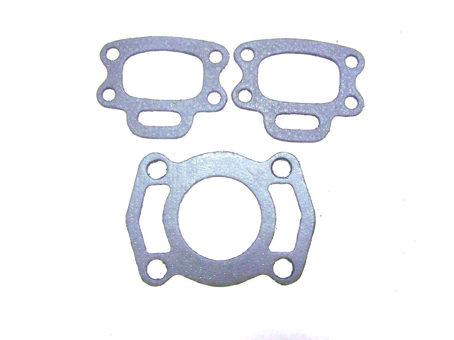 Sea Doo Exhaust Manifold Seadoo Gasket Set Xp Gtx Gts Gti Hx Speedster Gts Gs Gsi Spx JSP Manufacturing GK-420950253 and two of 420850638-FBA