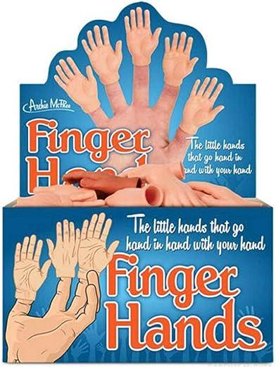 Zehn Finger Handpuppen