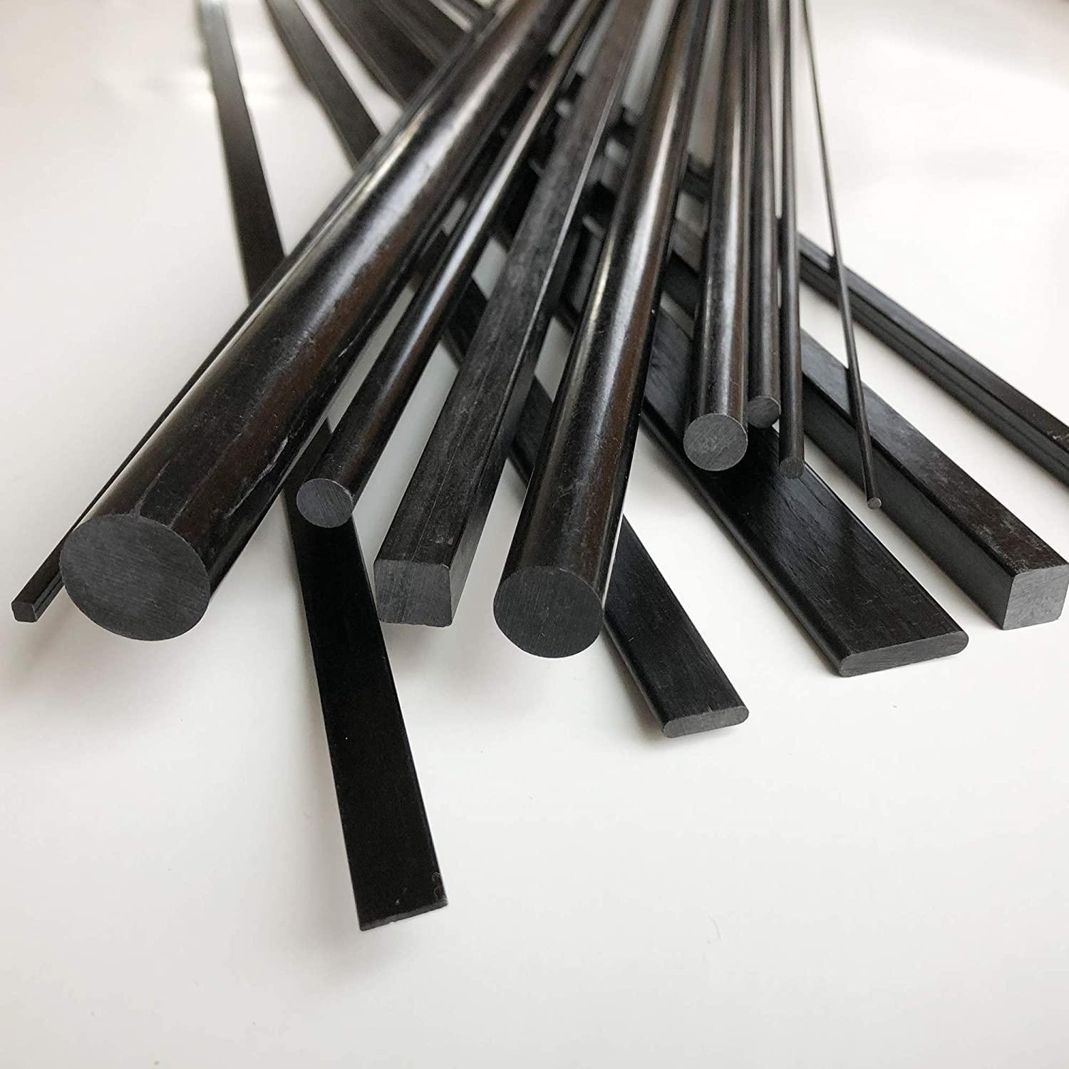 Radio Controlled Vehicles Used for Drones 2mm X 1000mm Projects requiring high Strength to Weight Components. 100/% Pultruded high Strength Carbon Fiber PULTRUDED-Square Carbon Fiber Rod 1