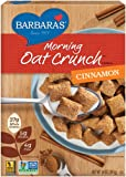 Barbara's Bakery Morning Oat Crunch Cereal, Cinnamon, 14 Ounce (Pack of 6)