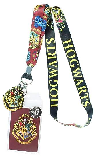 Amazon.com: Harry Potter Hogwarts - Cordón con identificador ...