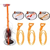 FATHER.SON Hair Drain Clog Remover Drain AND Snake Cleaning Tool