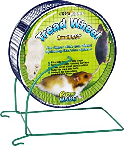 Ware Manufacturing Metal Small Pet Tread Exercise Wheel, Small