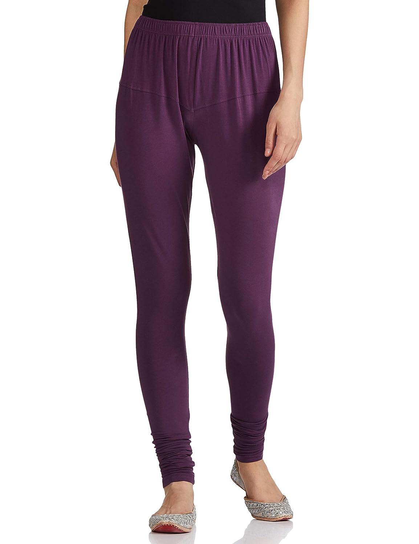 Lux Lyra Women's Leggings Silk_28_Dark Violet_Free Size