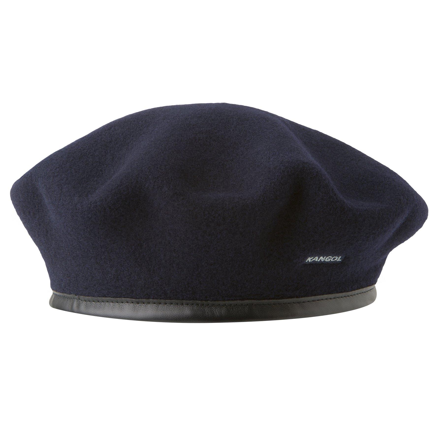 Kangol Classic Monty Beret, The Original Beret, Dark Blue (Small)