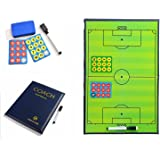 Coaching Strategy Board Kit Equipment Athpik Soccer Player Magnets 27pcs Magnets with Marker Pen